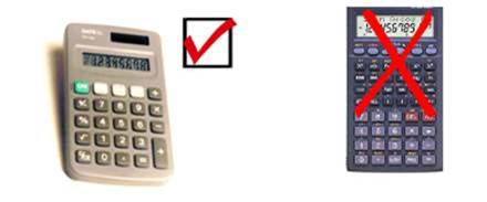 Approved calculator for the CHIM NCE