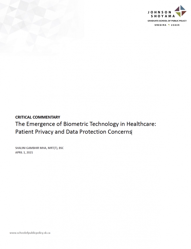 Johnson Shoyama research paper S.Gambhir 2021-04-01 feature image